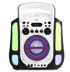 Auna Kara Illumina čierny karaoke systém