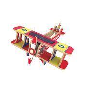Rokr dvojplošník 3D puzzle