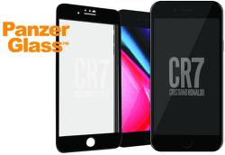 PanzerGlass CR7 tvrdené sklo pre iPhone 8/7, čierna
