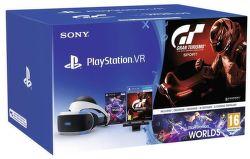 Sony PlayStation VR + Kamera v2 + Gran Turismo Sport + VR Worlds