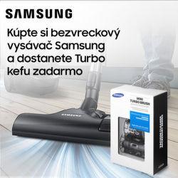 Turbokefa ako darček k vysávačom Samsung