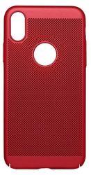 Mobilnet Sito puzdro pre iPhone X, červená