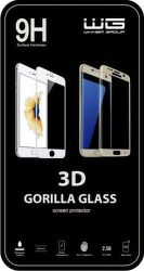 Winner ochranné tvrdené sklo 3D iPhone 8 Plus, čierne