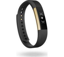 Fitbit Alta L, zlato-čierny