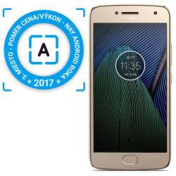 Motorola Moto G5s Plus zlatý