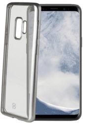 Celly Laser puzdro pre Samsung Galaxy S9, strieborná