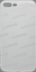 Mobilnet gumené puzdro pre iPhone 8+, transparentné