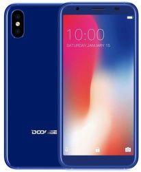 Doogee X55 modrý
