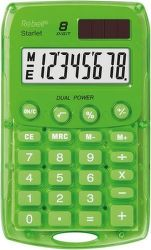 Rebell RE-StarletG BX vrecková kalkulačka zelená