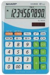 Sharp EL-M332BBL (modrá) - Stolová kalkulačka