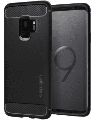 Spigen Rugged Armor puzdro pre Samsung Galaxy S9, čierne