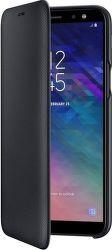 Samsung Wallet Cover puzdro pre Samsung Galaxy A6 2018, čierna