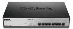 D-Link DGS-1008MP - 1Gb 8-LAN switch