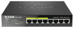 D-Link DGS-1008P - 1Gb 8-LAN switch