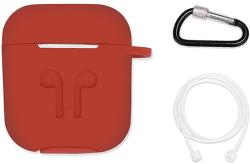 Bsmart CN-BSCASE01R červené puzdro pre Apple AirPods