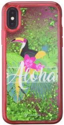 Cellularline Stardust gélové puzdro pre iPhone X, Aloha