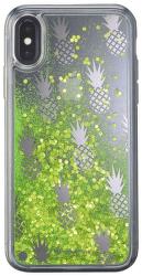 Cellularline Stardust gélové puzdro pre iPhone X, Pineapple