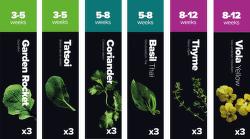 Plantui Starter Select Štartovací balíček (18ks)