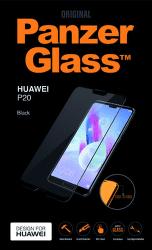 PanzerGlass tvrdené sklo pre Huawei P20, čierne