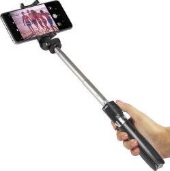 SBS Bluetooth selfie tyč so statívom a diaľkovým ovládaním, čierna