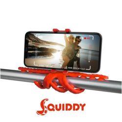 Celly Squiddy červený, flexibilný držiak