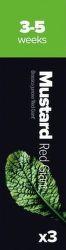 Plantui Mustard Horčica čínska listová (3ks)