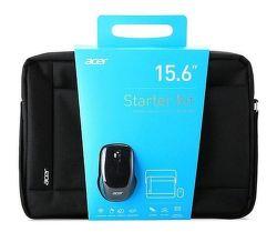 """Acer Starter kit 15,6"""" čierna taška na NTB + myš"""