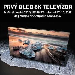 Predstavujeme QLED 8K televízory Samsung