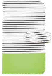 Fujifilm Instax Striped Mini 9 album, limetkovo zelená