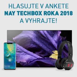 Hlasujte v ankete NAY TECHBOX roka 2018 a vyhrajte