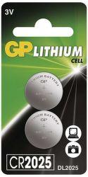 GP CR2025 2 KS, Batéria