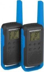 Motorola Talkabout T62, modro-čierna