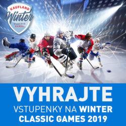 Vyhrajte vstupenky na Winter Classic Games 2019