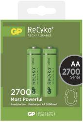 GP ReCyko+  HR6 (AA) 2700 mAh, 2 ks