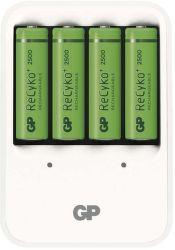 GP nabíjačka batérií PB420 + 4 AA GP ReCyko+ 2500