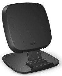 Zens Ultra fast charge 15 W stojančeková bezdrôtová nabíjačka, čierna