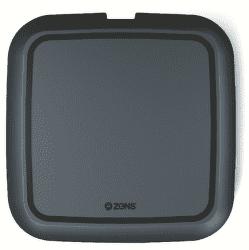Zens Ultra fast charge 15 W bezdrôtová nabíjačka, čierna