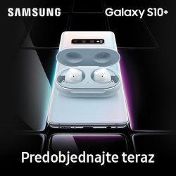 Darček k predobjednávkam na Samsung Galaxy S10 a S10+