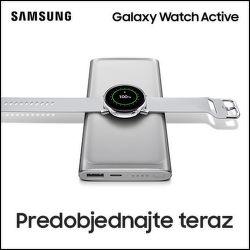 Darček k predobjednávkam na Samsung Galaxy Watch Active