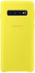 Samsung silikónové puzdro pre Samsung Galaxy S10, žltá