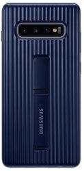 Samsung Protective Standing Cover pre Samsung Galaxy S10+, tmavo modrá