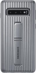 Samsung Protective Standing puzdro pre Samsung Galaxy S10, strieborná