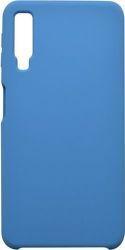 Mobilnet silikónové puzdro pre Samsung Galaxy A7 2018, modrá