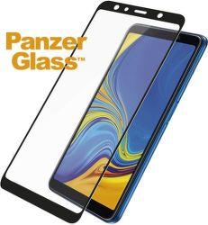 PanzerGlass tvrdené sklo pre Samsung A7 2018, čierna