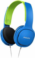 Philips SHK2000 modro-zelené detské slúchadlá