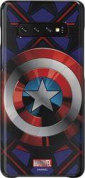 Samsung Marvel puzdro pre Samsung Galaxy S10+, Captain America
