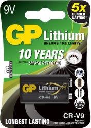 GP CR-V9 (9V) lítiová batéria