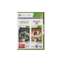 XBOX360 - Halo Reach/Fable 3 Bundle