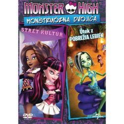 DVD F - Monster High: Frikulínská dvojka