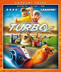 BD F - Turbo (3 disky, 3D BD + 2D BD + DVD)
